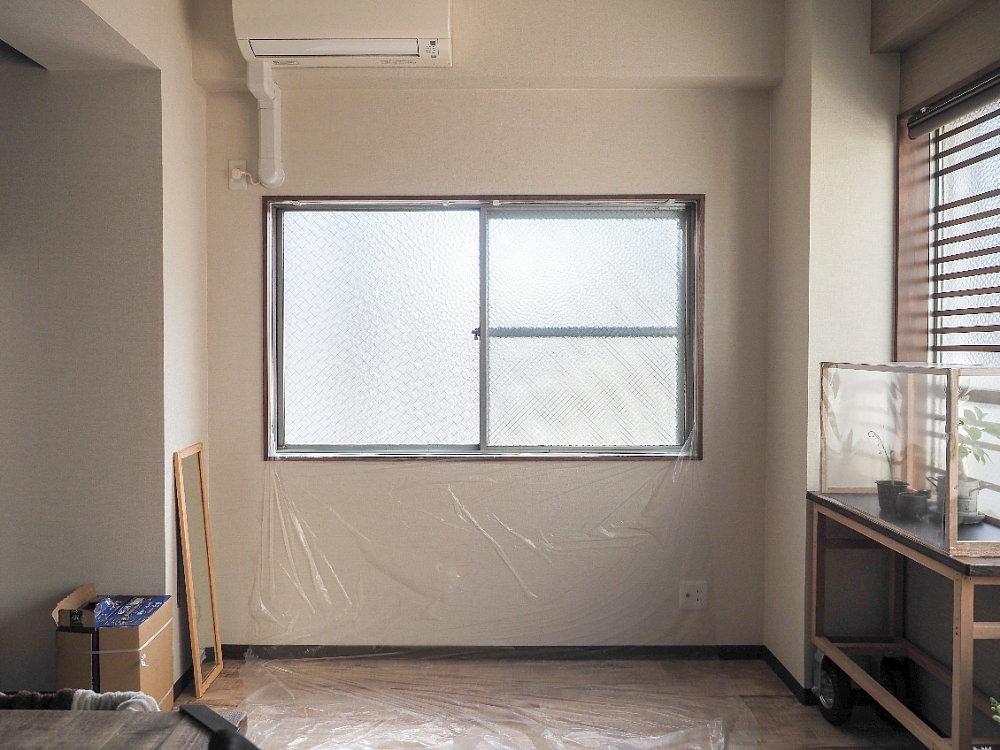窓枠塗装001