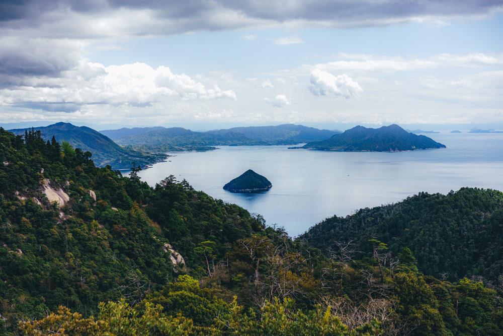 弥山からの絶景
