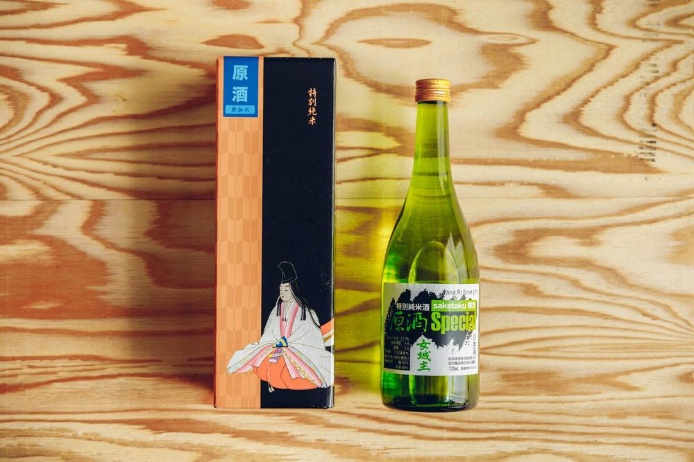 saketaku限定の日本酒