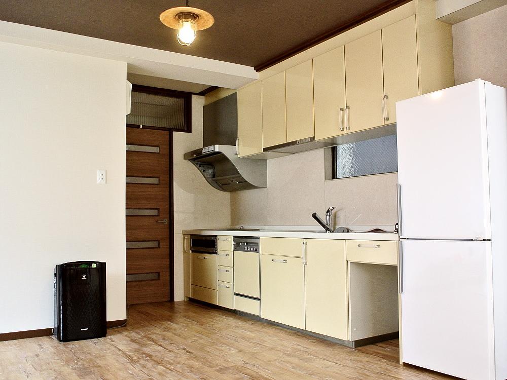 キッチンの高さを上げるDIY