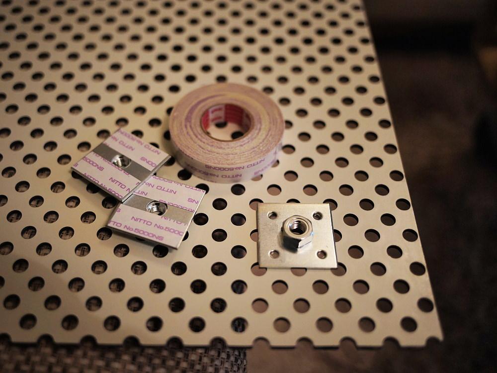 シンクの底を上げる台製作