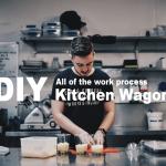 【DIY】オリジナルキッチンワゴンをDIYで製作した全作業工程