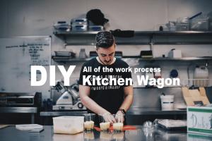 【DIY】キッチンワゴンをDIYで製作した全作業工程