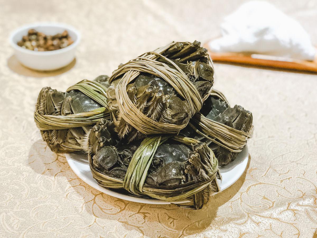 生の上海蟹