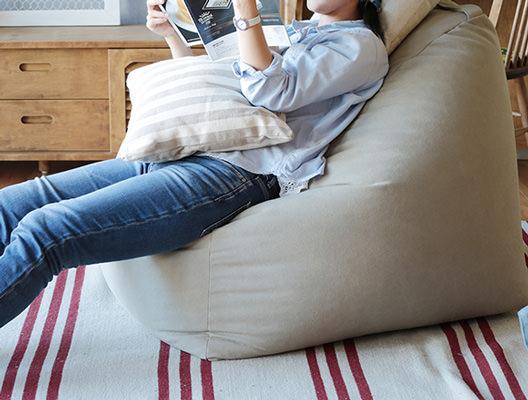 一人掛けソファのような使い方