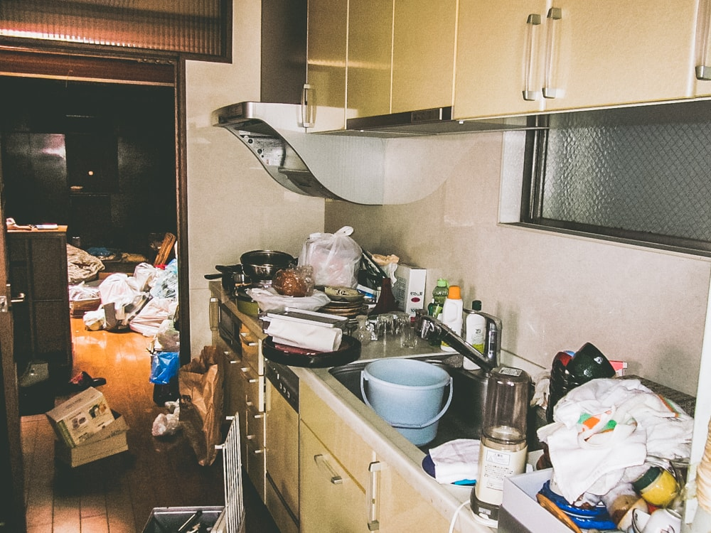 キッチン扉DIY前